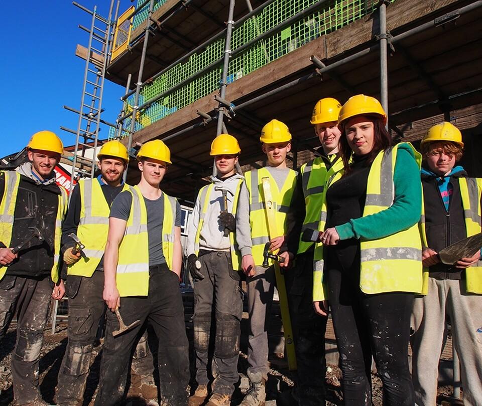 Kendal Homebuilder Reinforces Its Foundations In Apprenticeship Training