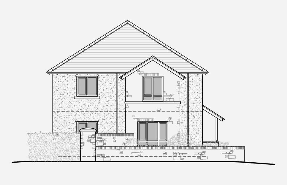 OS Plot 1 Affordable home