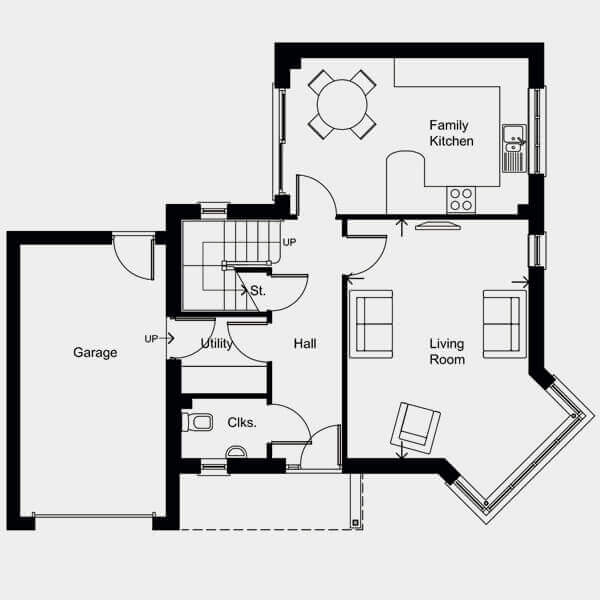 floor plan for this plot