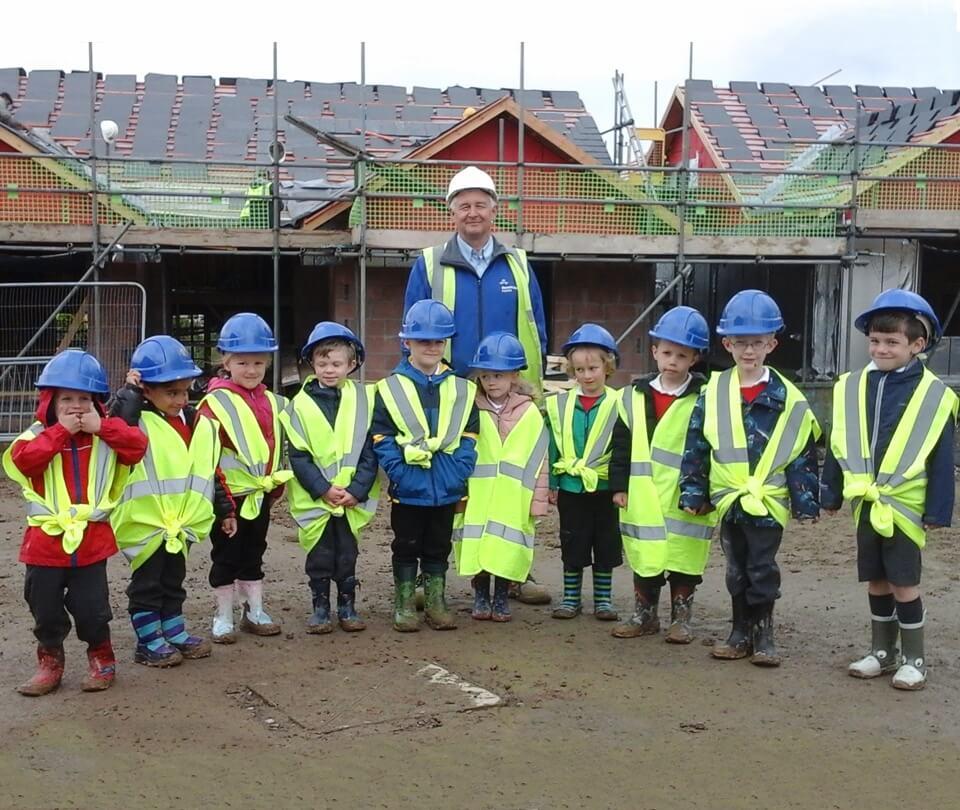 Lindale Primary School Children Visit Russell Armer Homes' Grange Development During New Homes Week