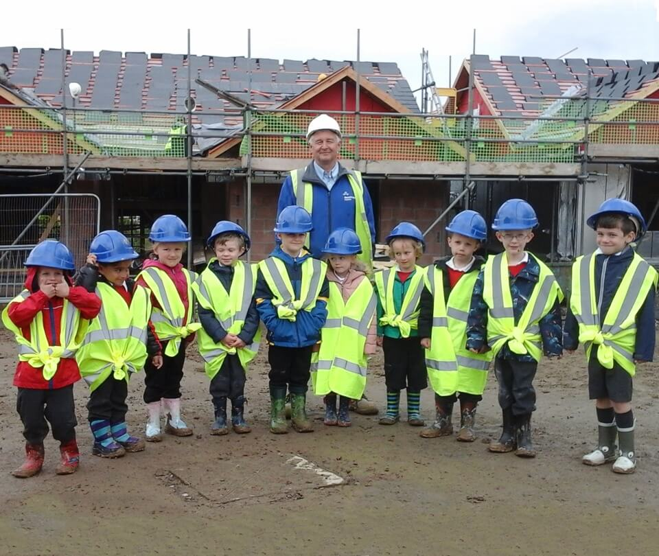Lindale Primary School Children Visit Russell Armer Homes' Grange Development During New Homes Week