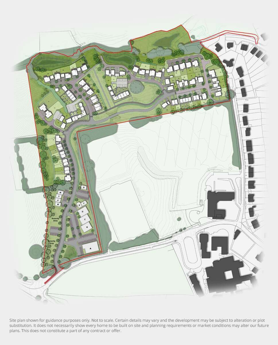 Oakfield Park Proposed Site Plan