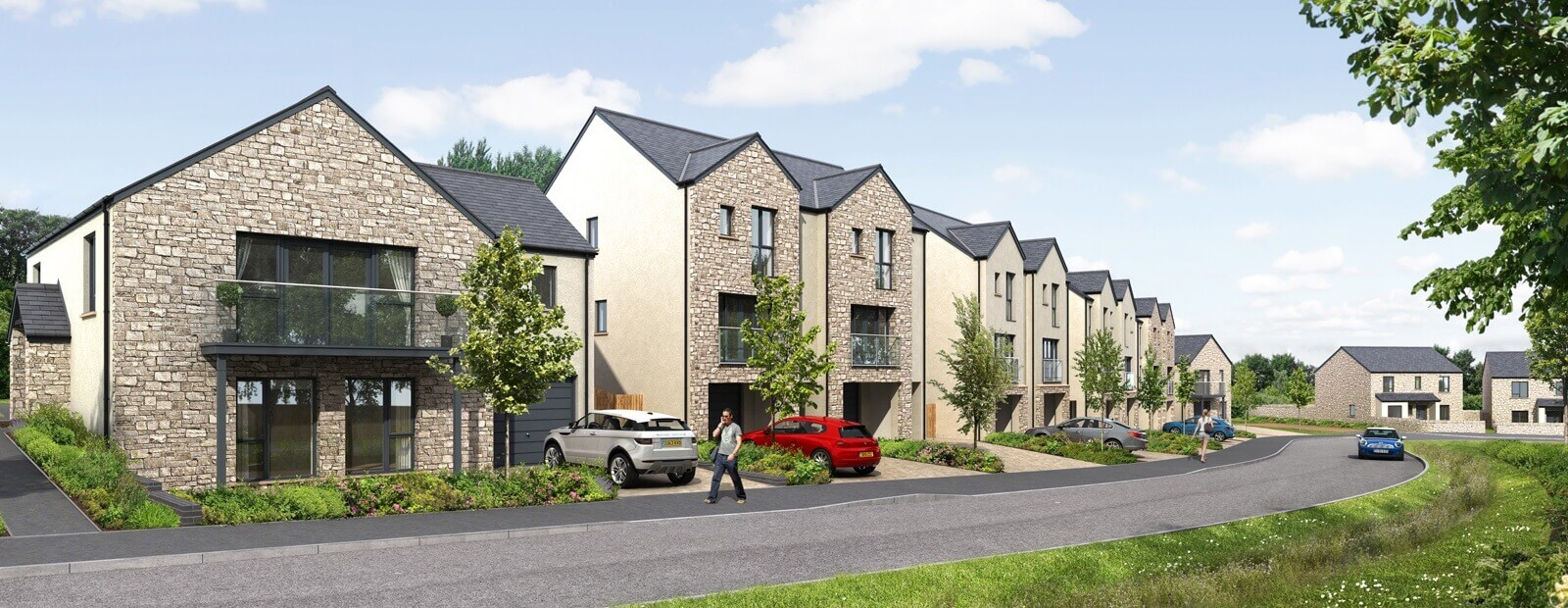 New homes for sale in kirkby lonsdale kendal road russell armer