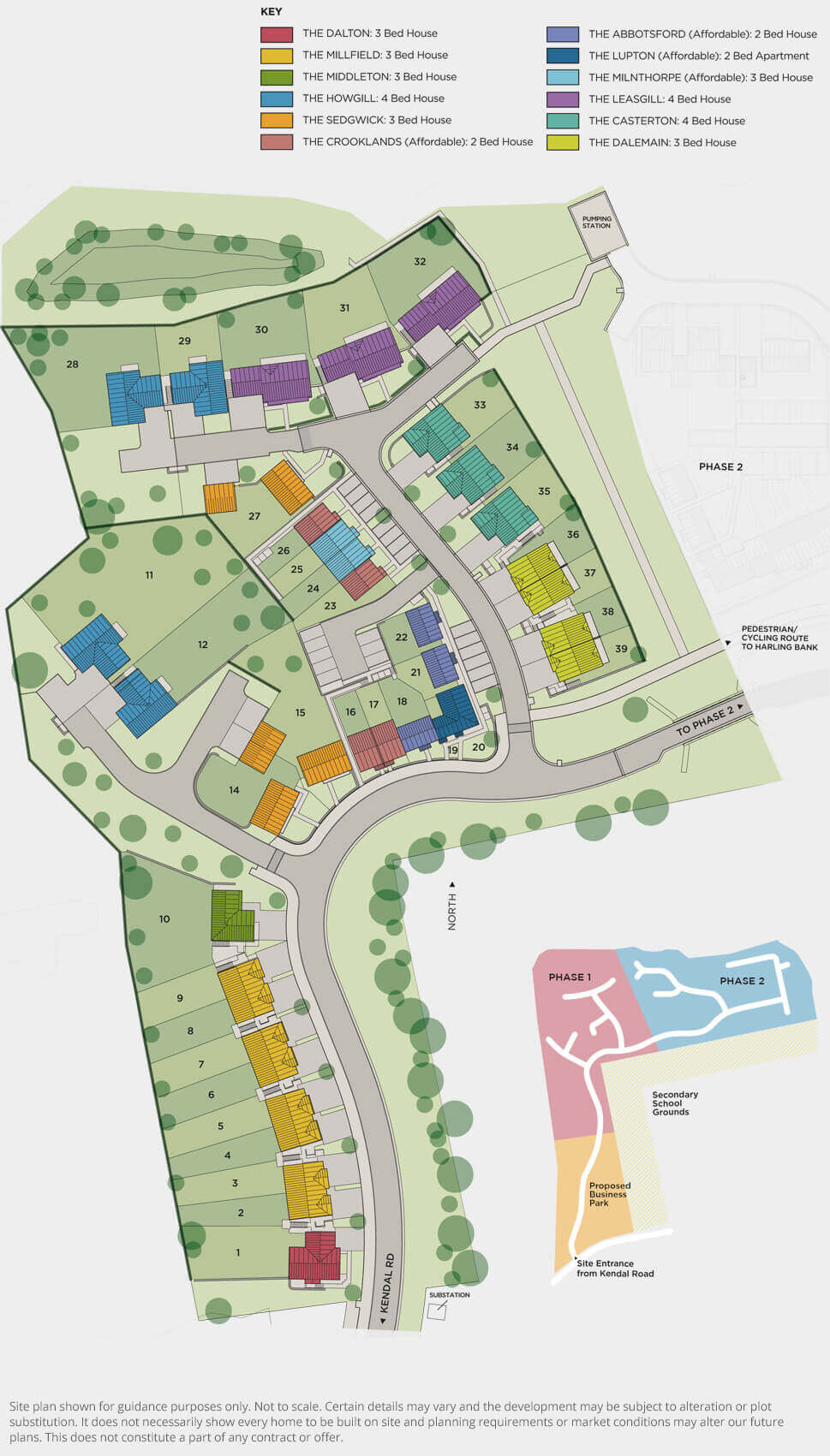 Oakfield Park – Phase 1 Phase 1