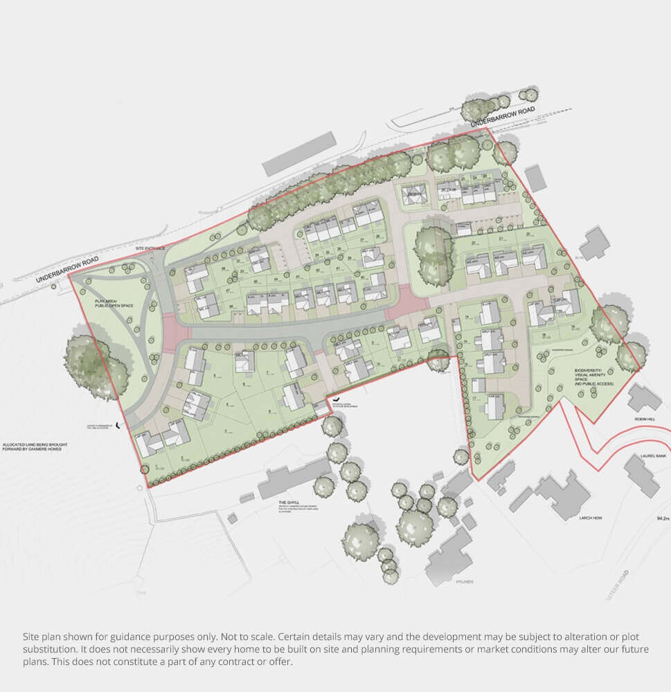 The Grove Approved Planning Scheme (final details may vary)