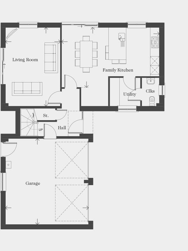 floor plan for this plot