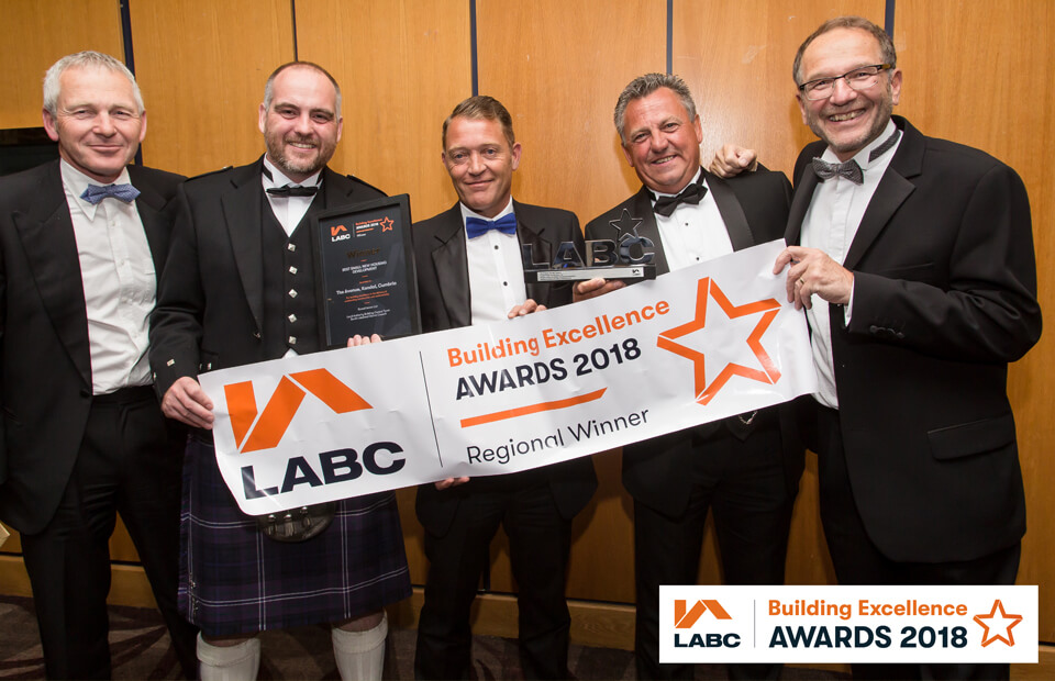 Cumbria housebuilder beats competition to win coveted industry award