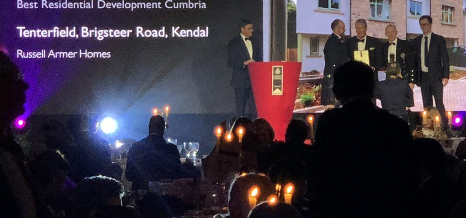 Russell Armer team collects UK property award
