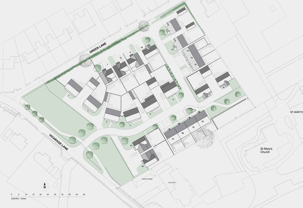 Winfield Gardens Approved Planning Scheme (final details may vary)