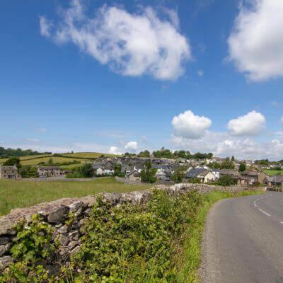 Road into Allithwaite