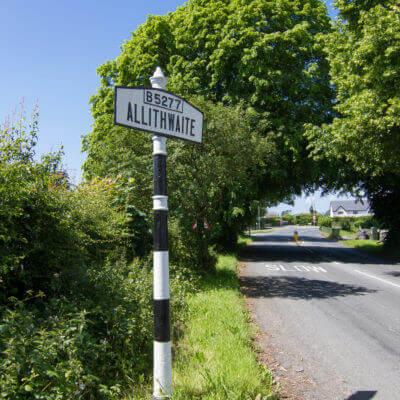 Allithwaite Village Sign