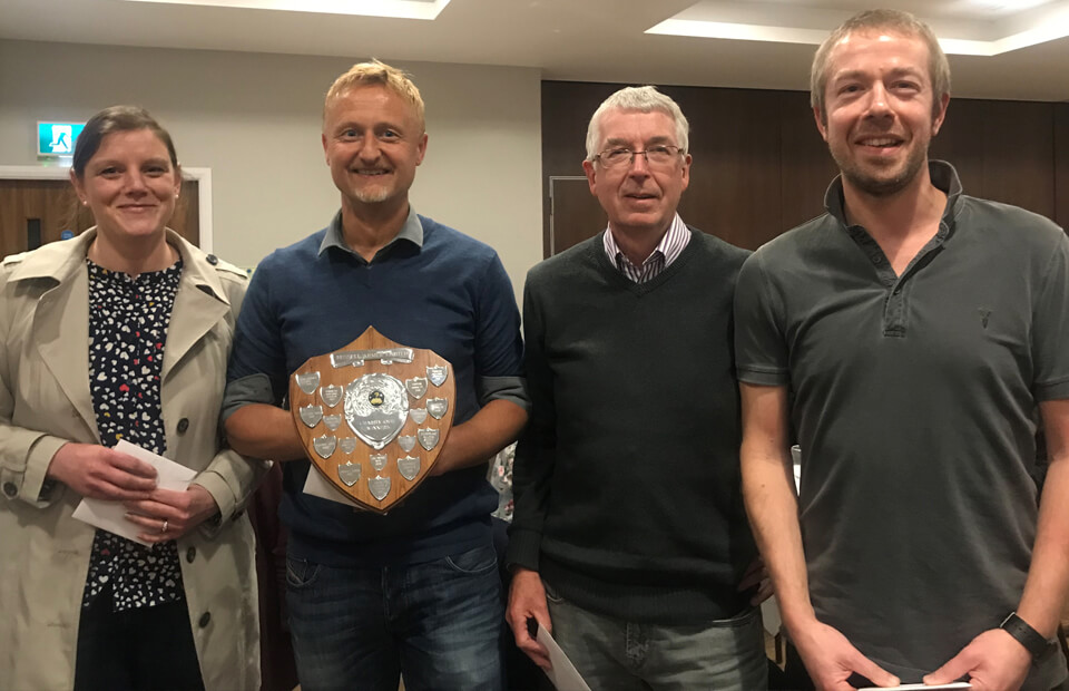 KNS Financial Planning claim top spot at Russell Armer's 2019 charity quiz