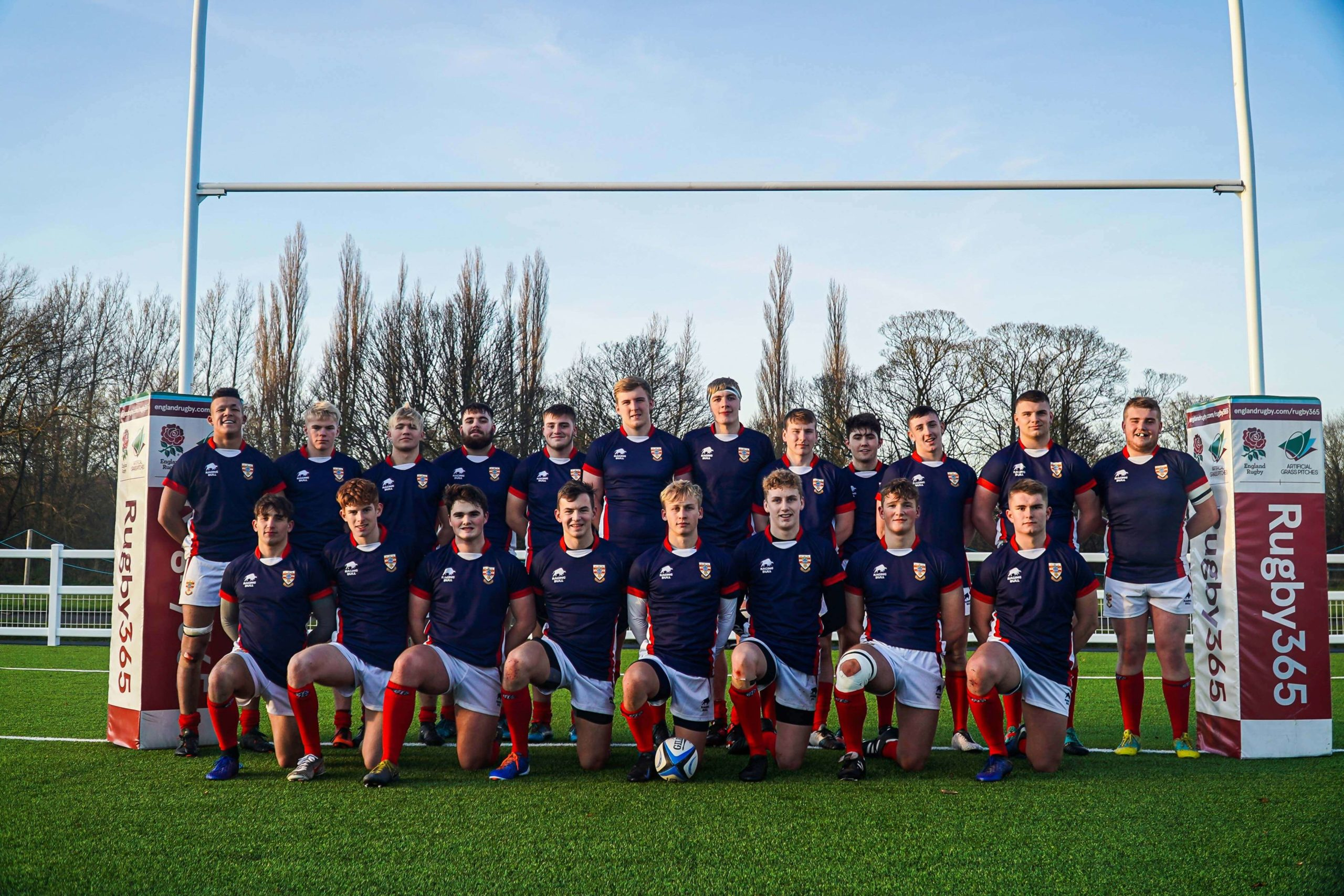 Russell Armer sponsors rugby U18 team event