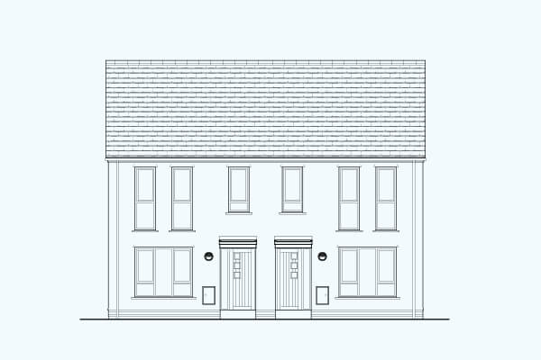 The Milnthorpe 'A' - Affordable home