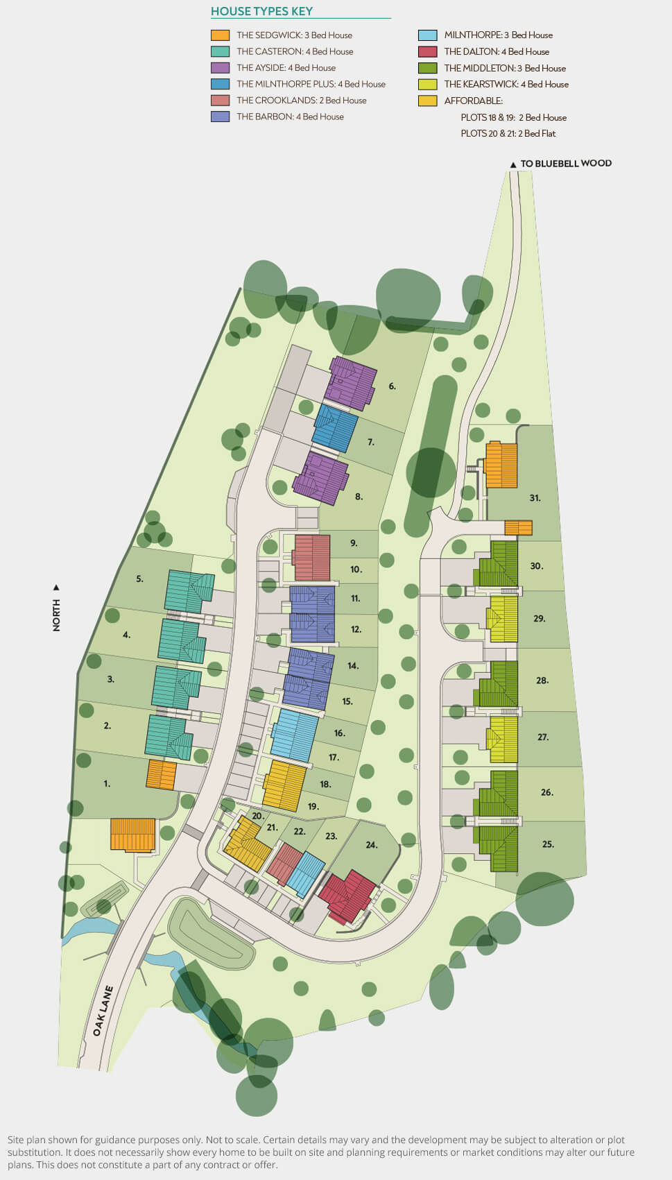 The Acorns The Acorns - Site Plan