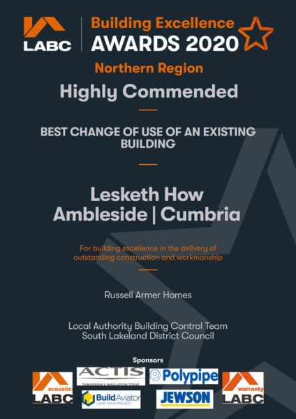Russell Armer wins Highly Commended in prestigious industry digital award ceremony