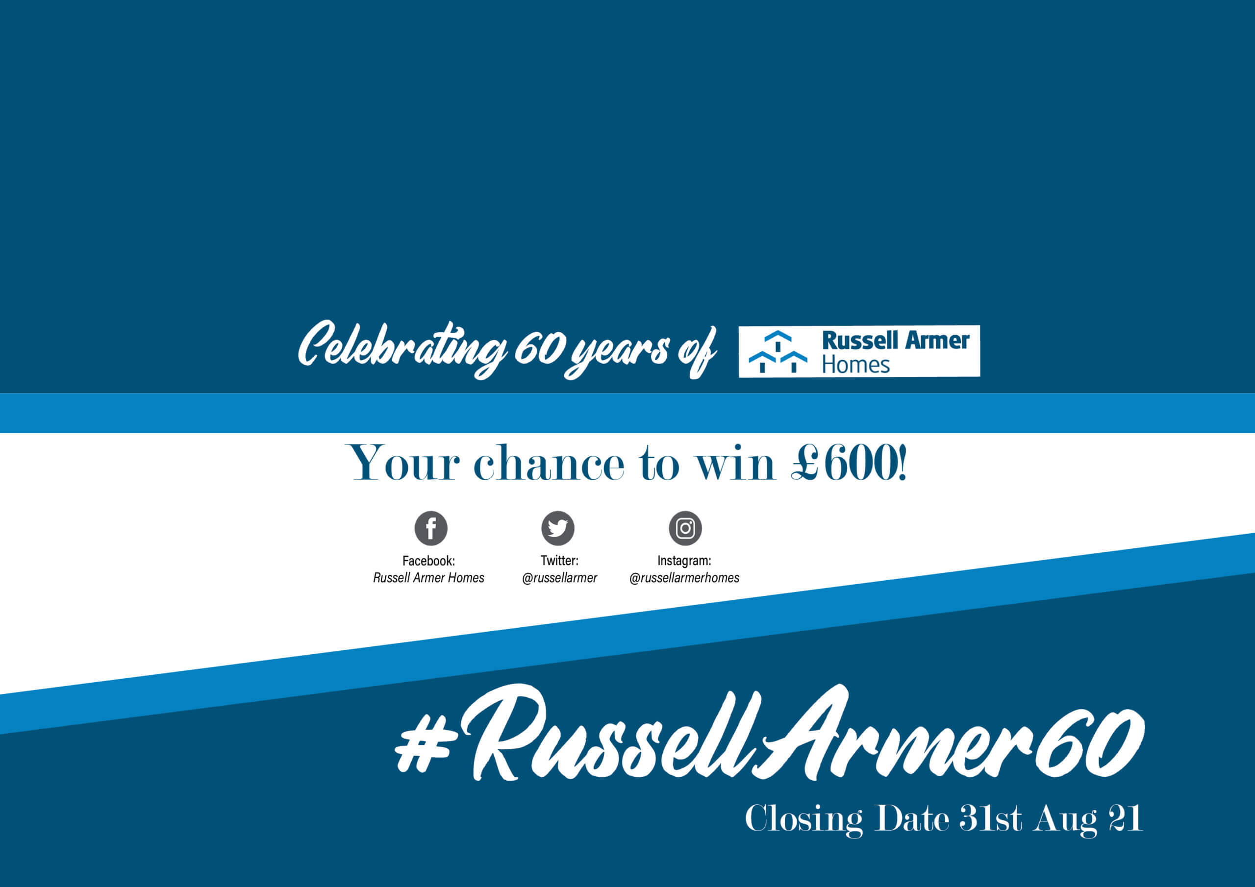 Competition launched to celebrate 60 years of home building